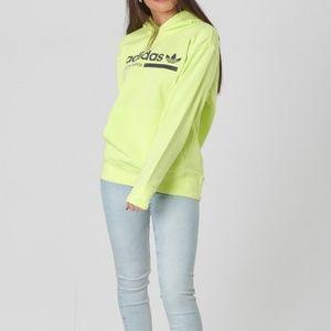 Adidas Kaval Graphic Hoodie Semi Frozen Yellow
